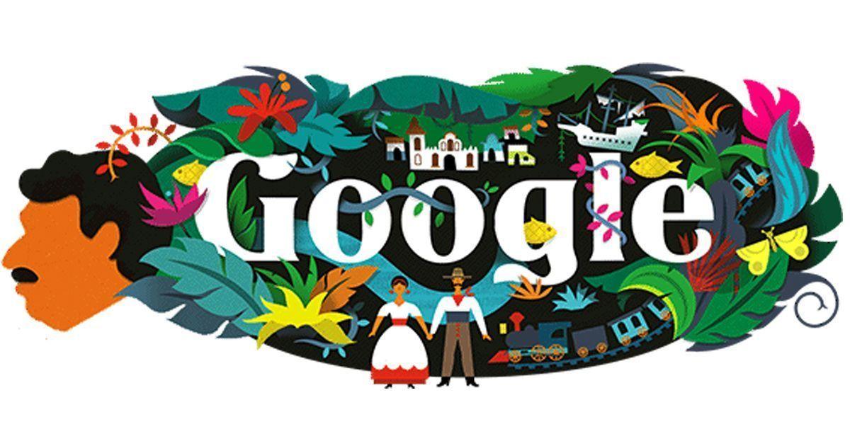 Google celebrates author Gabriel García Márquez's 91st birth anniversary with a colourful doodle