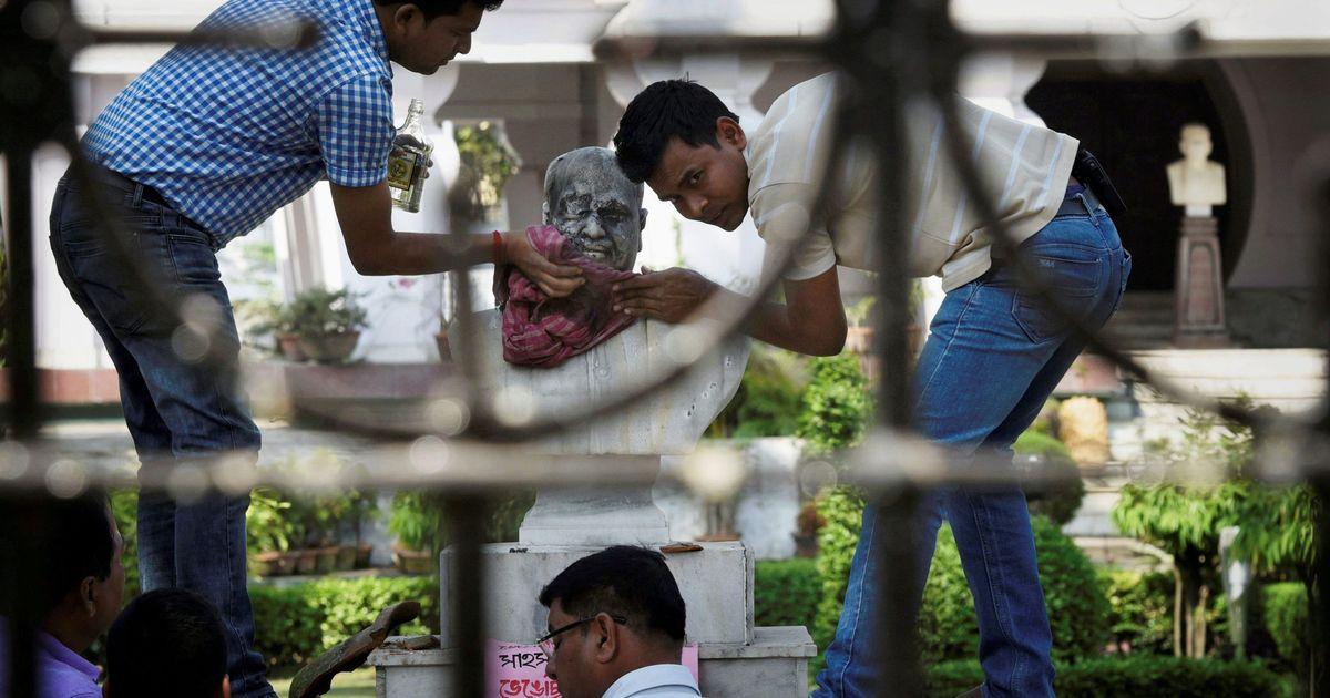 Kolkata: Seven people arrested for defacing Syama Prasad Mookerjee's bust