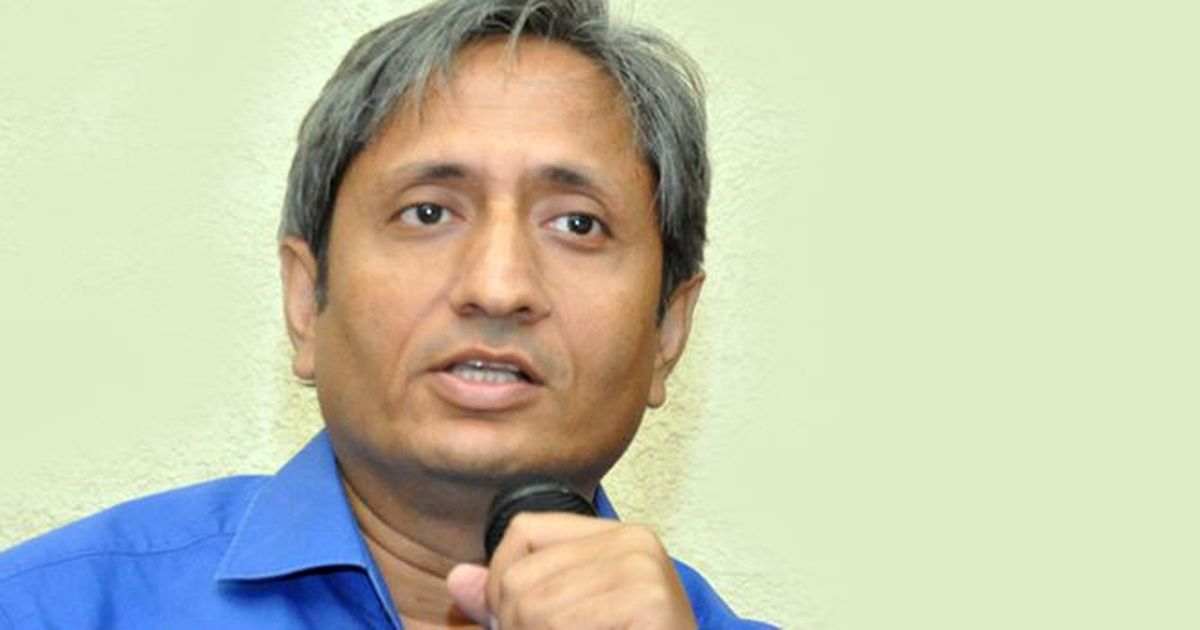 'In new India, anyone who shreds a few posters at the crossroads becomes a historian': Ravish Kumar