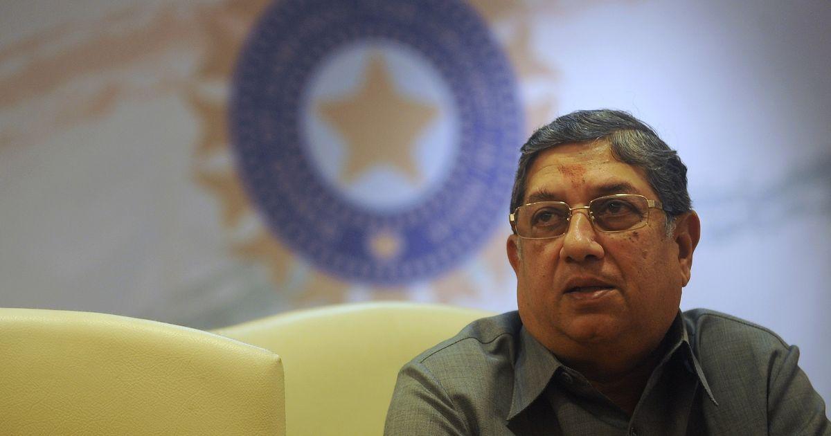 'False, highly unprofessional': Srinivasan hits back at Vengsarkar over alleged selection bias