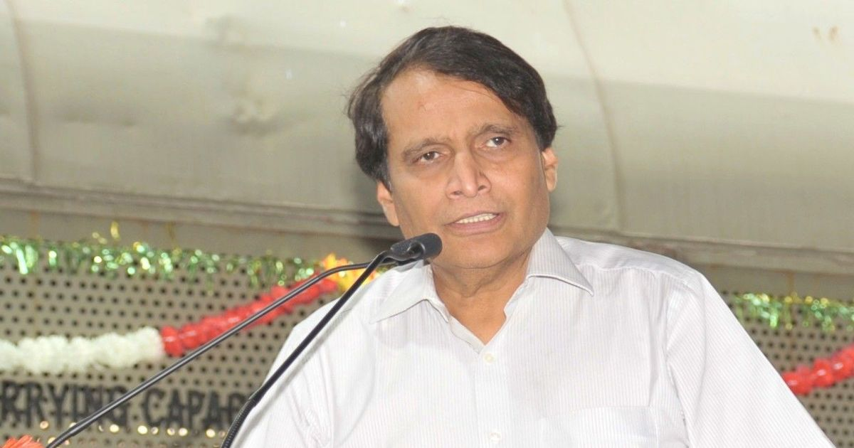 Commerce Minister Suresh Prabhu assigned additional charge of Ministry of Civil Aviation