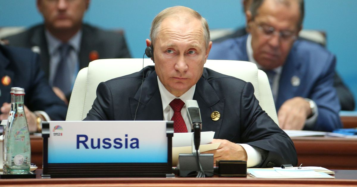 Vladimir Putin says he 'couldn't care less' if Russians interfered in US presidential election
