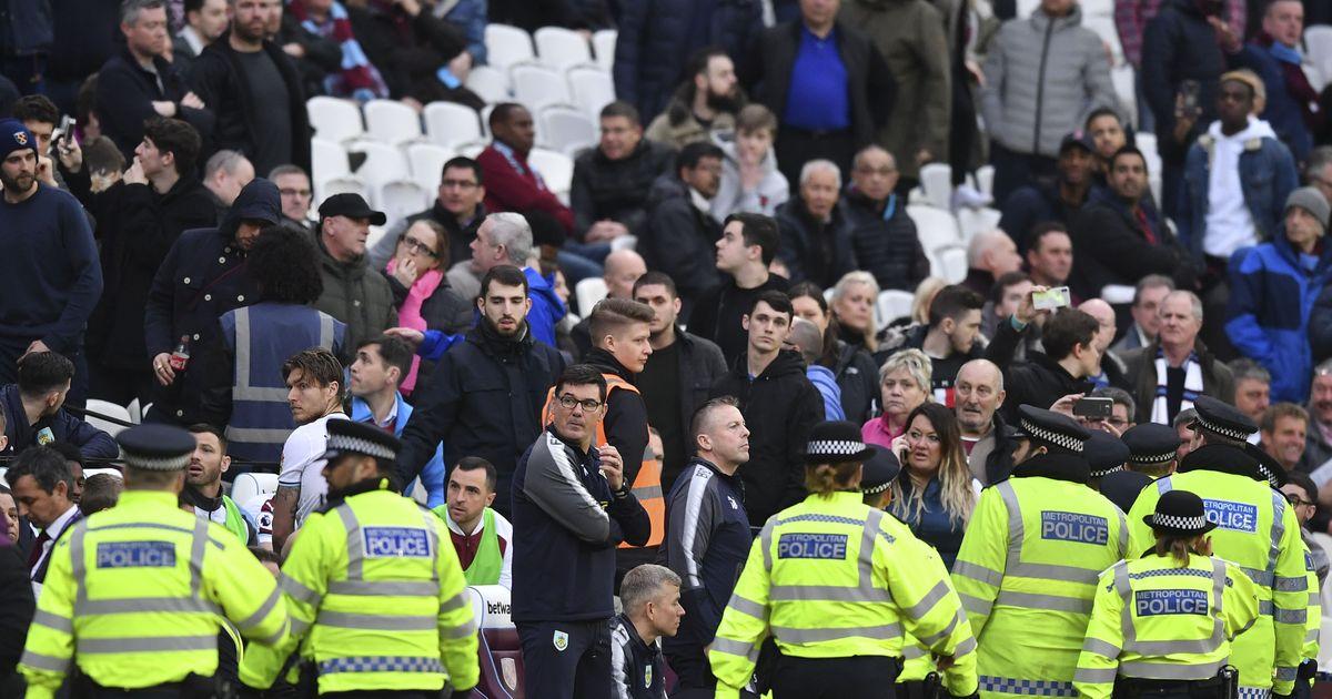 Premier League: West Ham face probe after fans mar Burnley loss