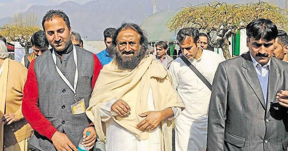 People claim they were lured into attending Ravi Shankar's Srinagar event with false promises