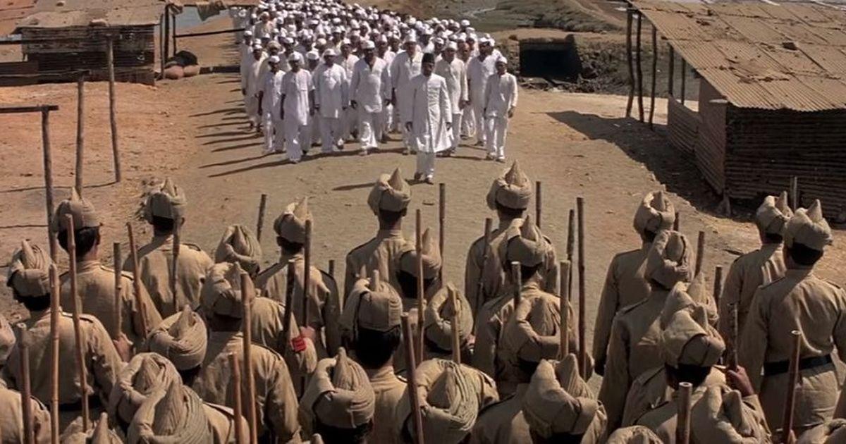 In Richard Attenborough's 'Gandhi', the audacious Dandi March gets a fitting tribute