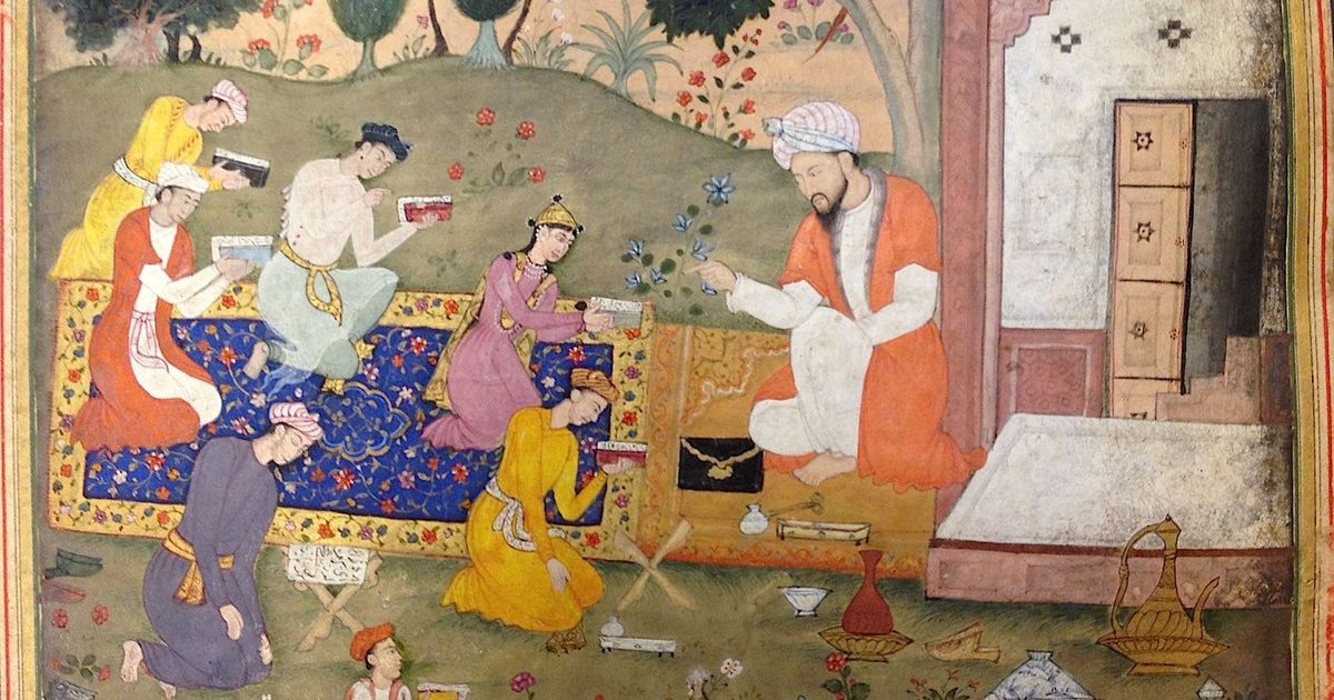 Rare manuscripts: A look at an illustrated Mughal copy of Nizami's tragic romance 'Layla Majnun'