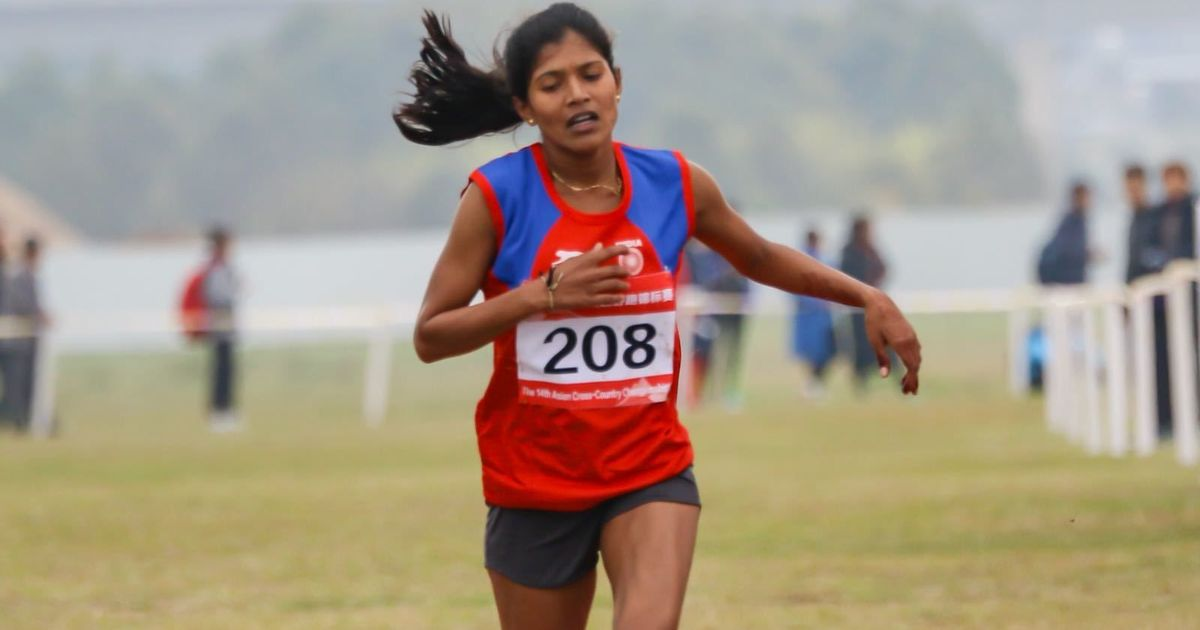 India's Sanjeevani Jadhav wins bronze in Asian cross-country race
