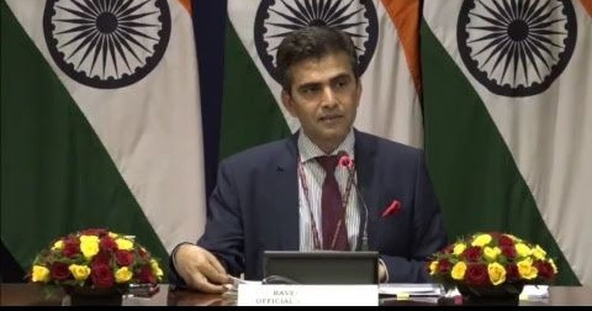 India says Iran is free to choose its partner in the Chabahar project