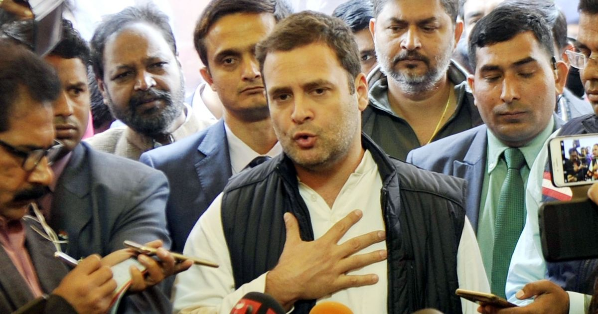 Rafale deal caused a loss of Rs 36,000 crore even as the Indian Army begs for money: Rahul Gandhi