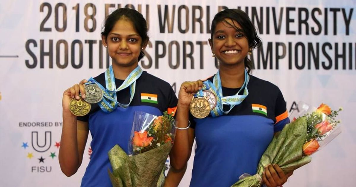 World University Shooting: India women win 10m Air Rifle team gold and individual silver, bronze