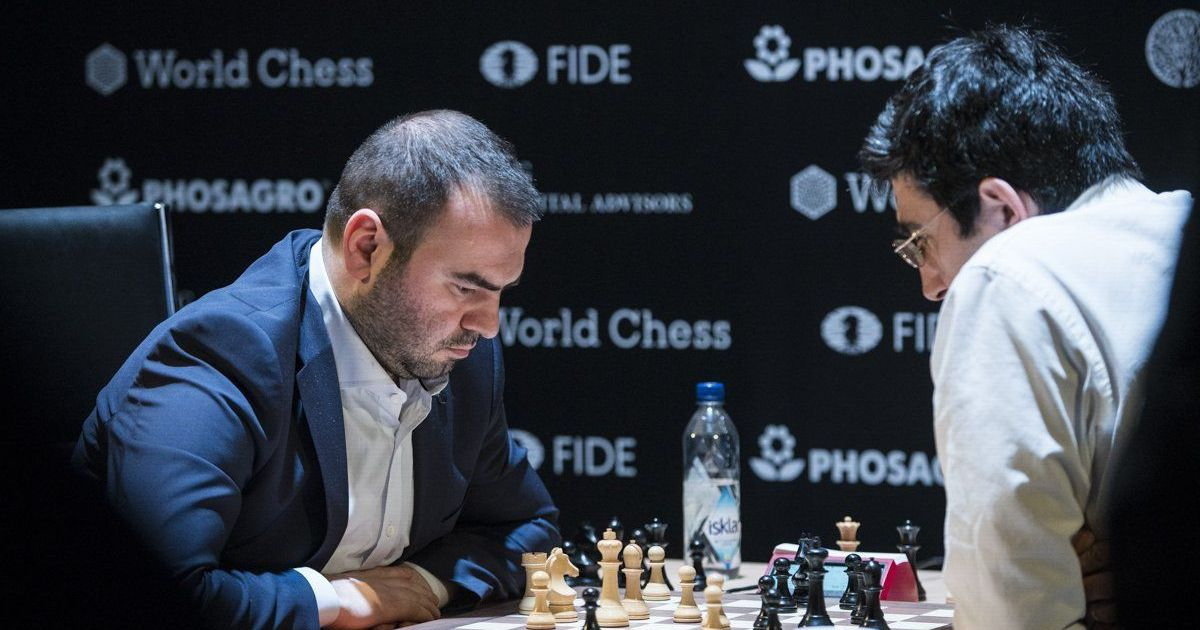 Candidates Tournament: Mamedyarov leads with Caruana after sixth-round win against Kramnik
