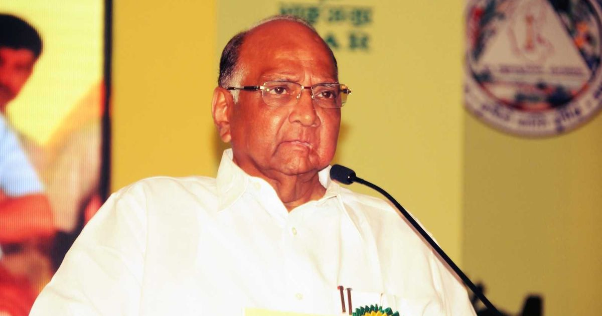 'I wish someone warned me 40 years ago', Sharad Pawar says on tobacco consumption