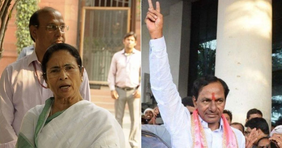 'There's a need for an alternative force': Telangana CM on Third Front after meeting Mamata Banerjee