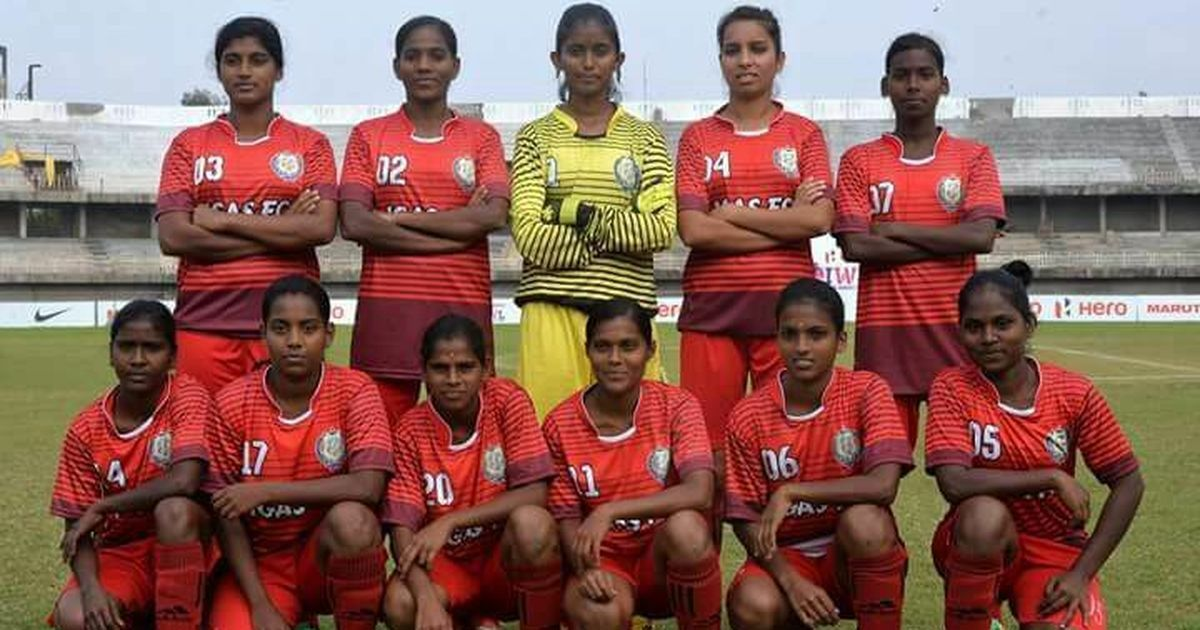 For the Indira Gandhi Academy team, the experience of the Indian Women's League is a hard-earned one