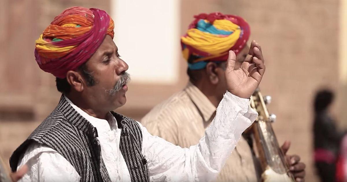 Listen: Rajasthani folk singers present their take on the Kaharvaa taal