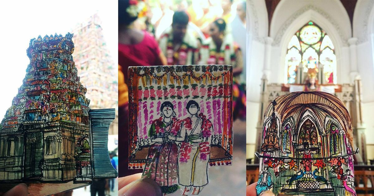 Honey, I shrunk the city: Chennai's quirks and charms get a miniature tribute from a young artist