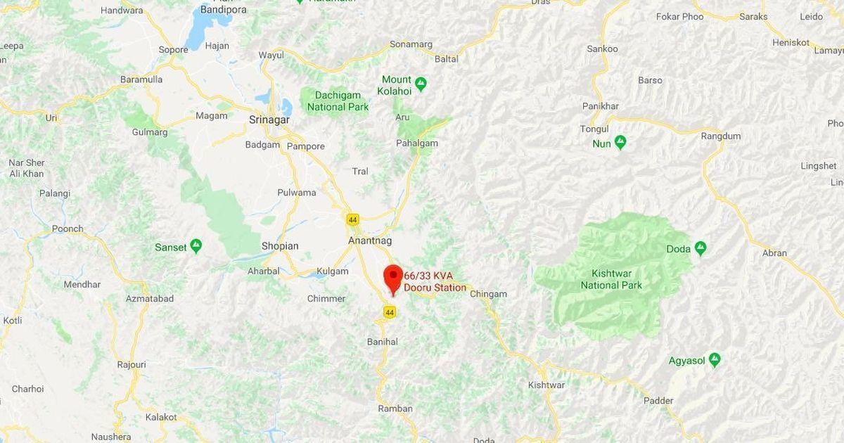 Two suspected militants killed in Anantnag's Dooru town in South Kashmir