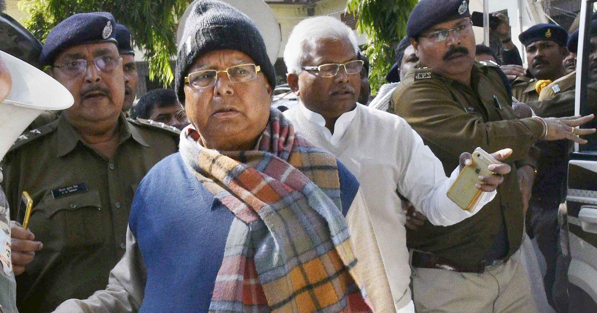 Fodder scam: Lalu Prasad Yadav sentenced to 14 years in prison in Dumka treasury case