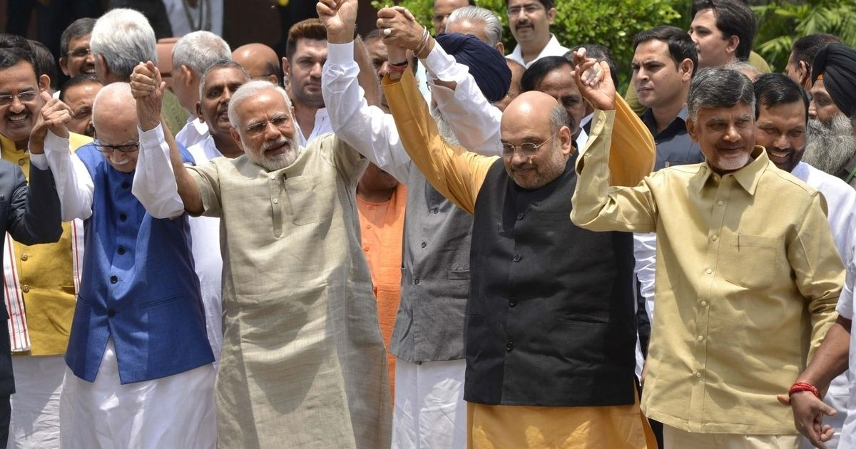 Telugu Desam Party's move to quit NDA 'solely guided by political considerations', says Amit Shah