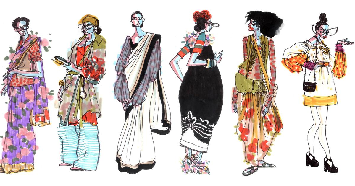 From Sabyasachi To Elle Fashion Brands And Magazines Are Increasingly Working With Illustrators