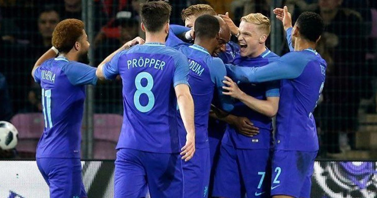 Netherlands give Koeman first win by cruising past Portugal, Uruguay down Wales to win China Cup