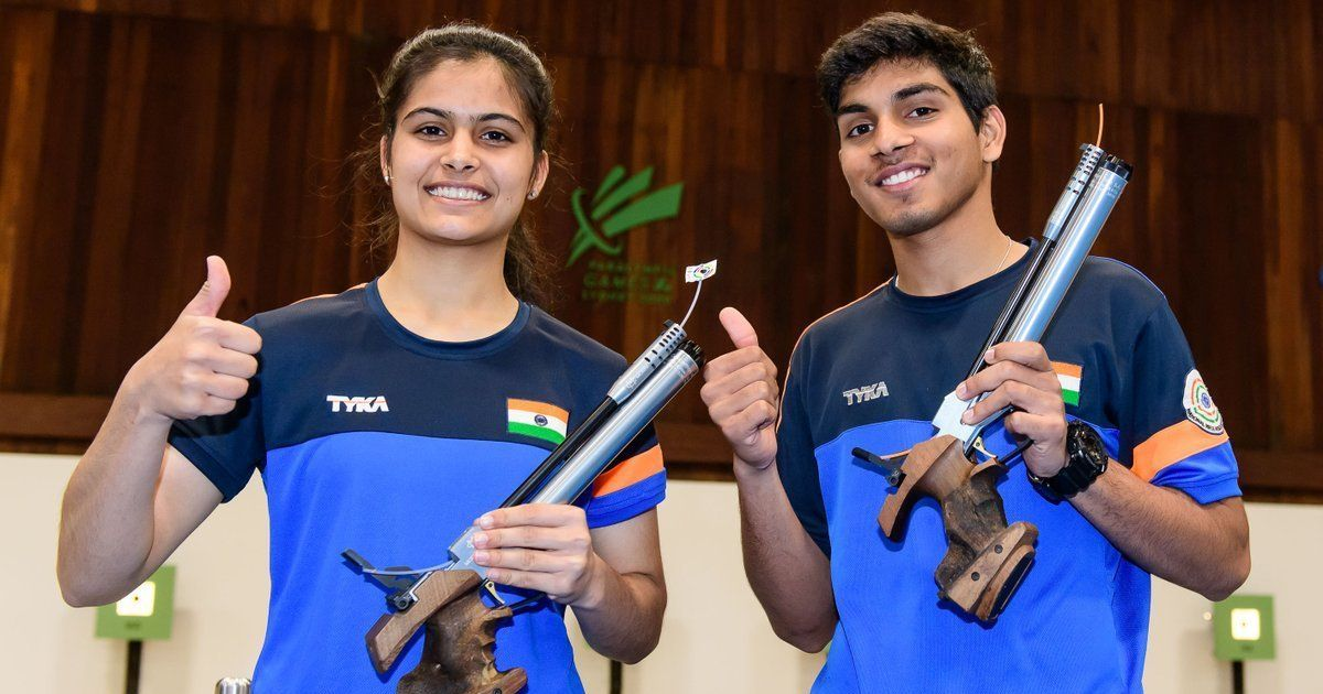 Junior Shooting World Cup: Anmol Jain and Manu Bhaker clinch India's seventh gold medal