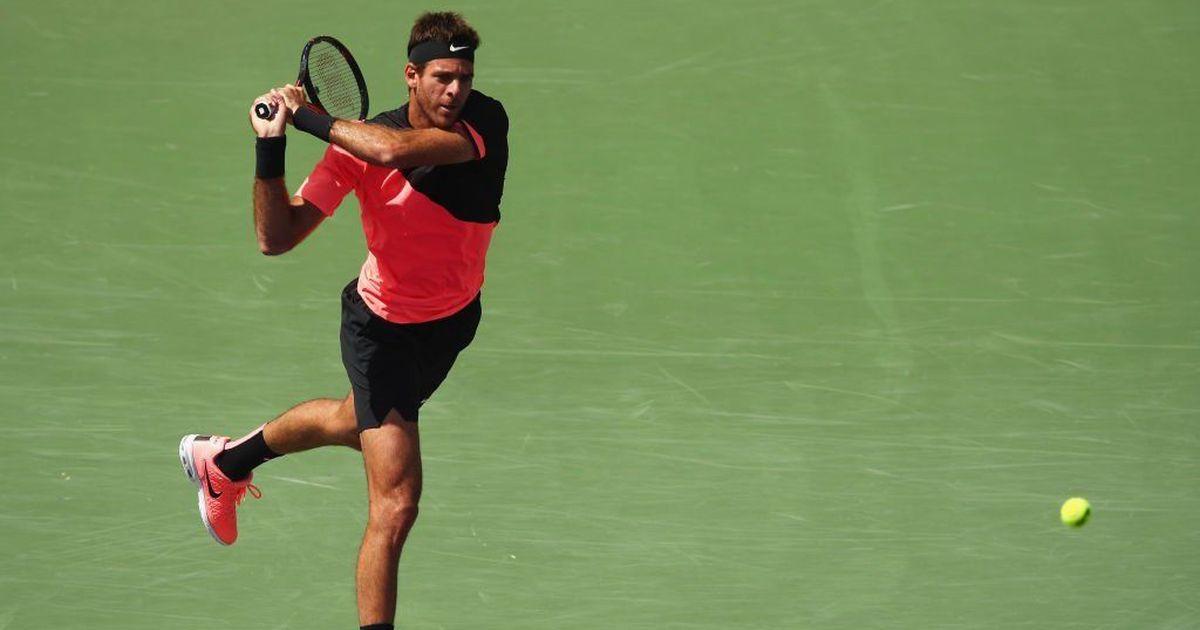 Miami Open: Del Potro crushes Krajinovic in straight sets to meet Raonic in quarter-finals