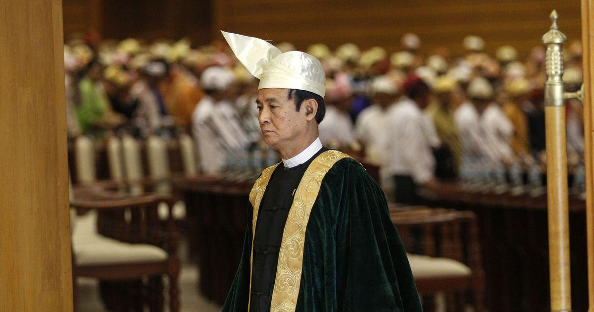 Myanmar: Aung San Suu Kyi's close ally U Win Myint elected president