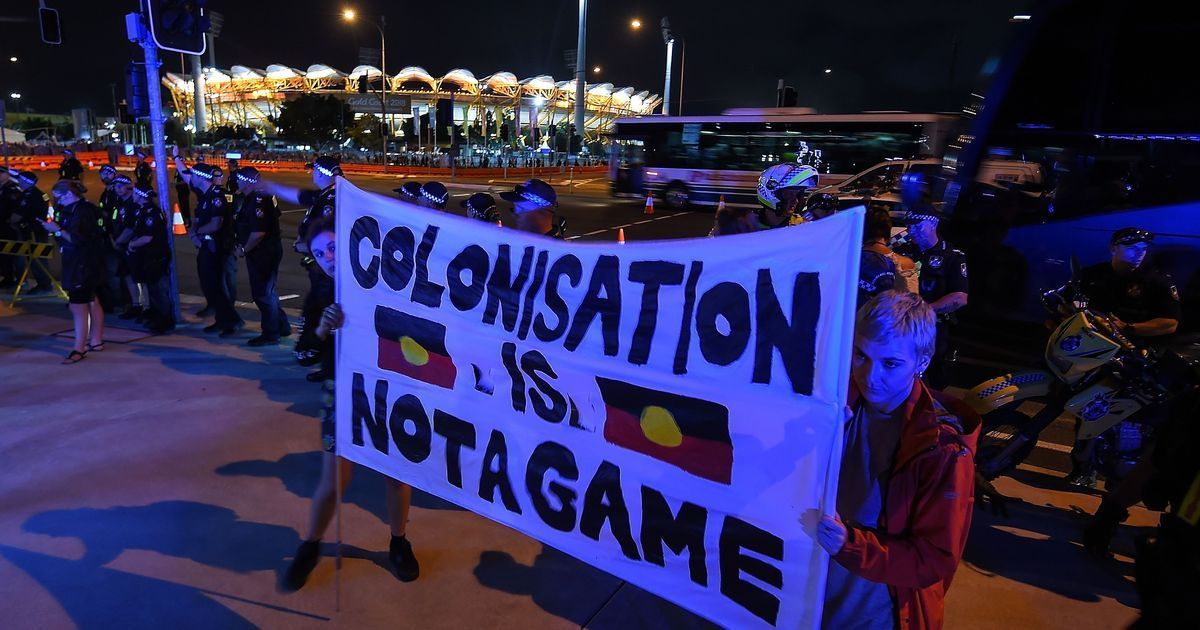 Aboriginal activists target Commonwealth Games opening ceremony