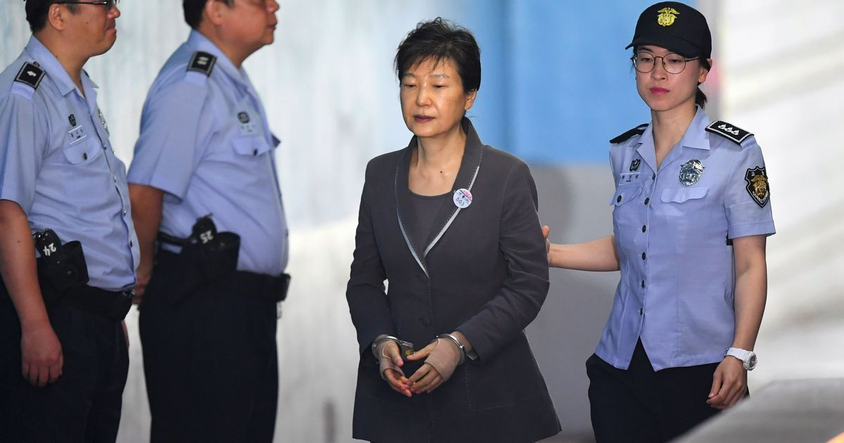 Former South Korean President Park Guen-hye sentenced to 24 years in jail in corruption case