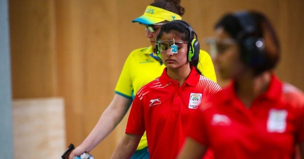 'Never set myself targets, trust my technique': Manu Bhaker after clinching CWG gold
