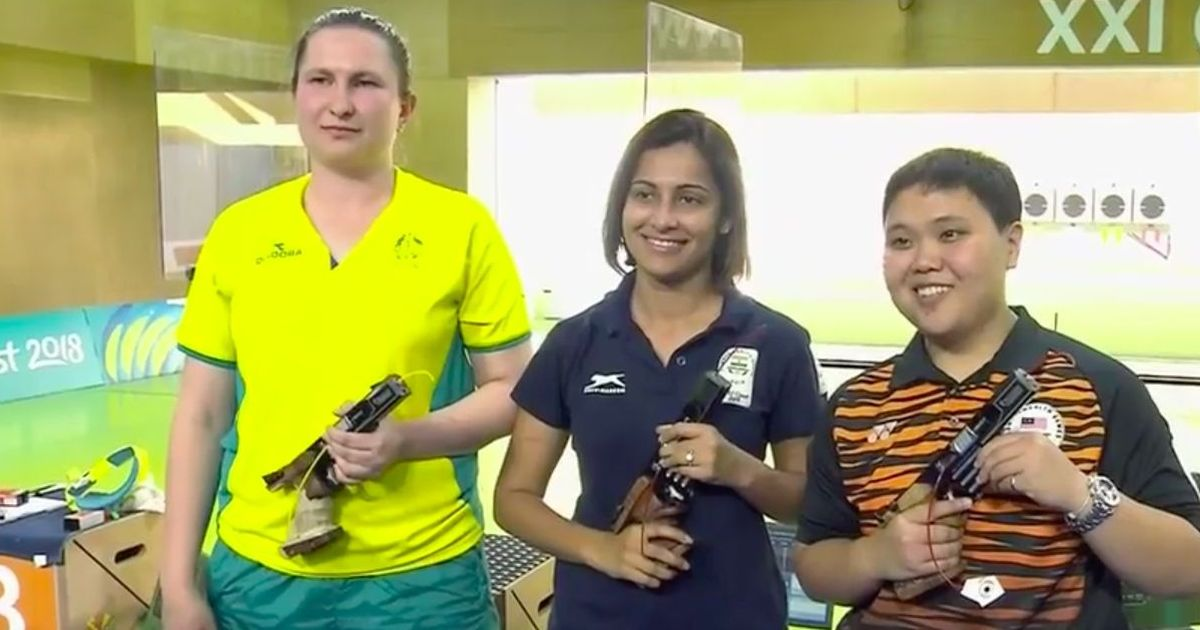 CWG 2018: Heena Sidhu wins gold in the women's 25 metre pistol, bags her second medal at the Games