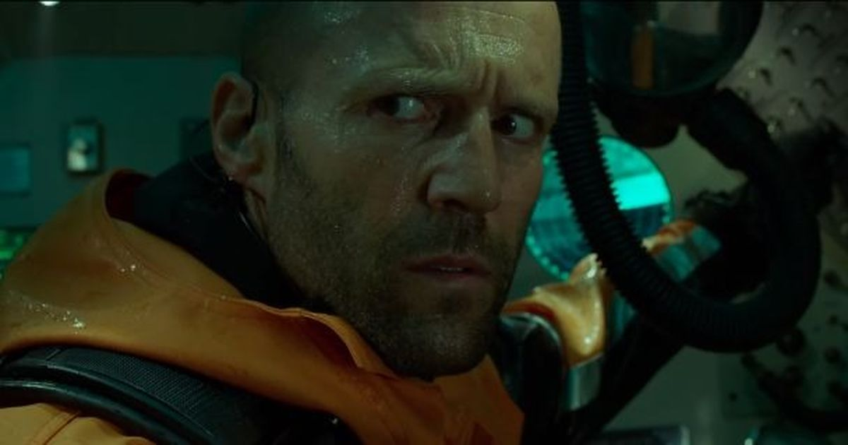 Trailer talk: It's Statham versus a shark in 'The Meg'