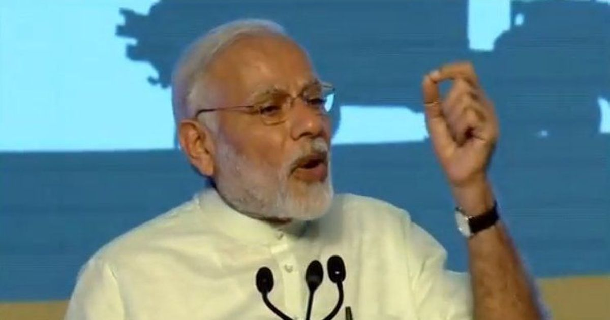 Protests greet Narendra Modi in Chennai, 50 DMK workers arrested