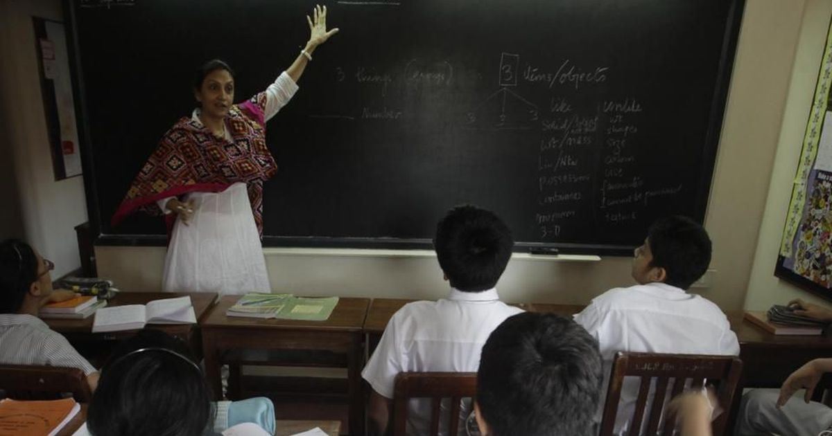 A new training policy proposed to help Indian teachers upgrade their skills may not help much