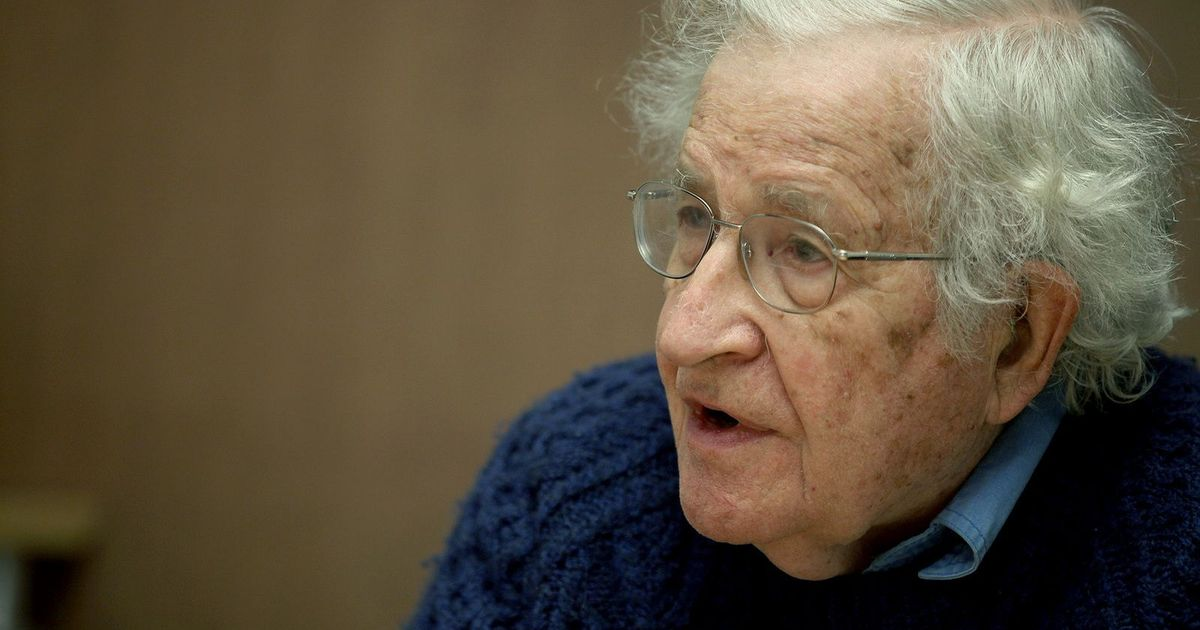 The Noam Chomsky interview: Aadhaar could be used in totally unacceptable ways