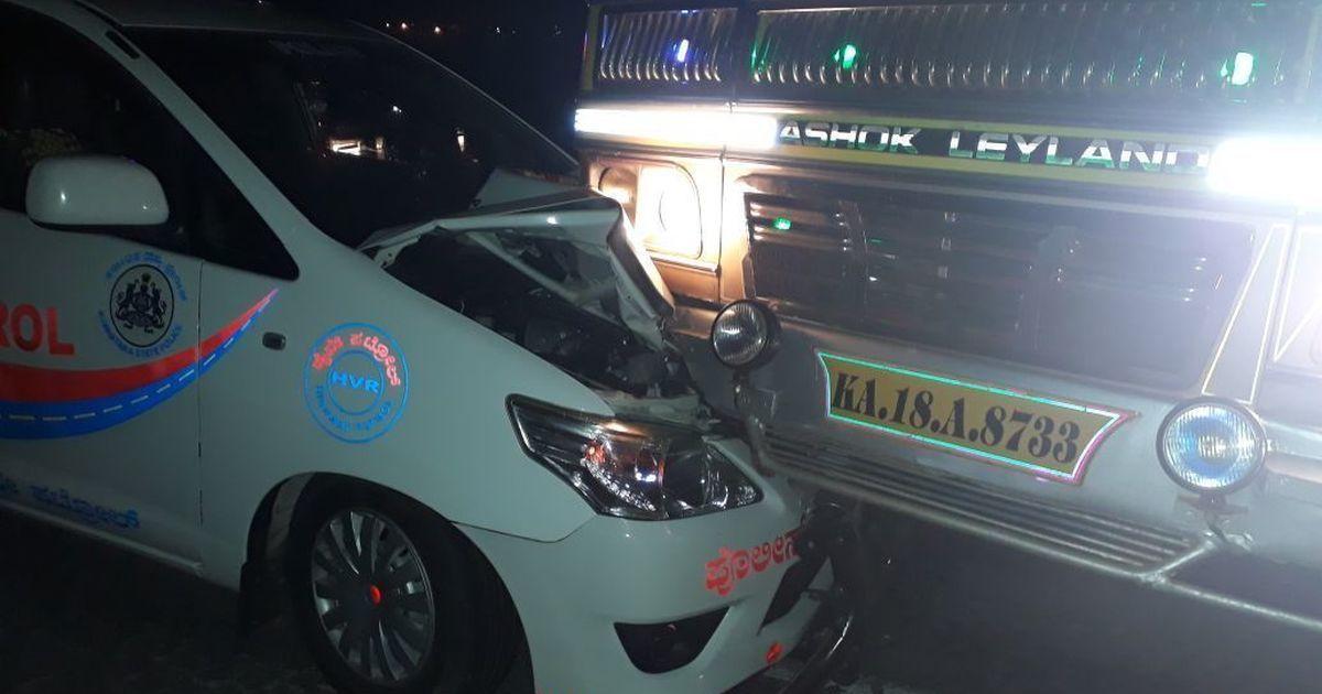 Union minister Anantkumar Hegde claims 'big nexus' against him after truck hits escort vehicle