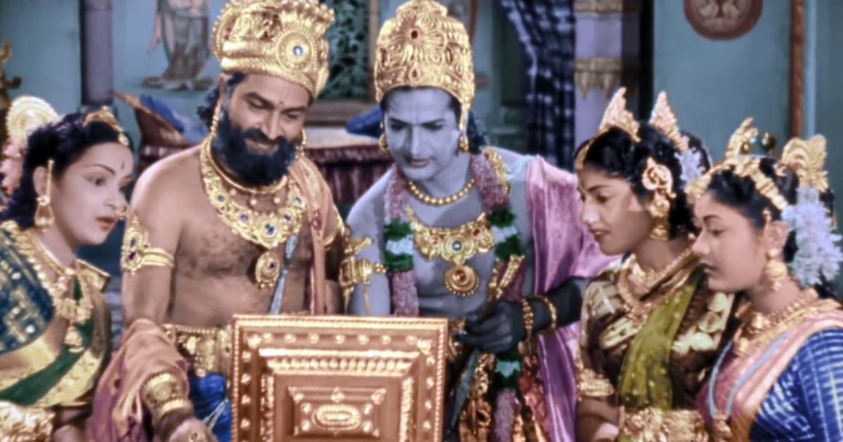 Is this box from a Telugu film classic the internet device the Tripura CM was talking about?