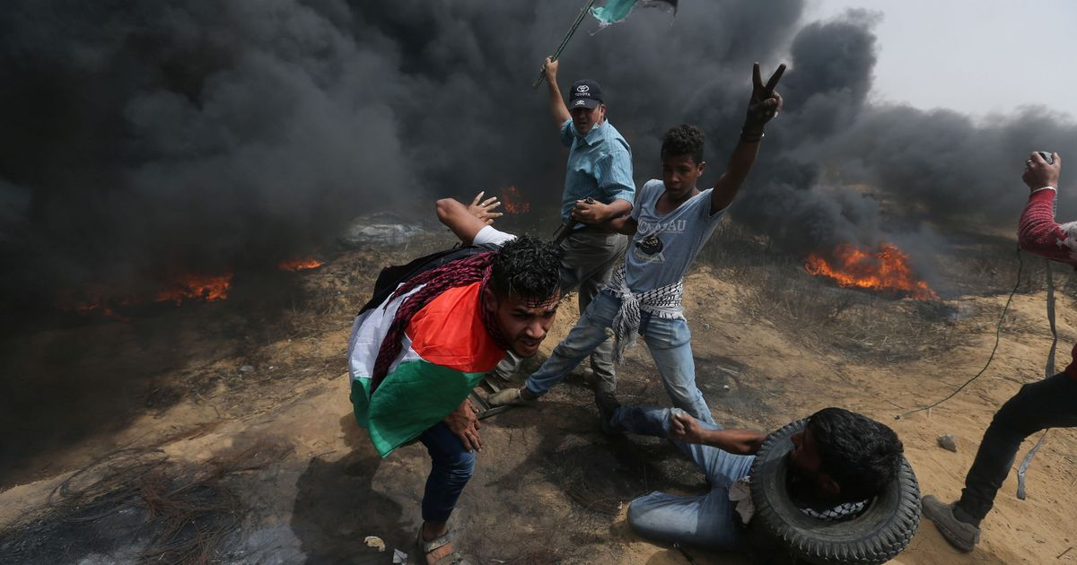 Israeli troops kill four Palestinians as protests continue along Gaza border