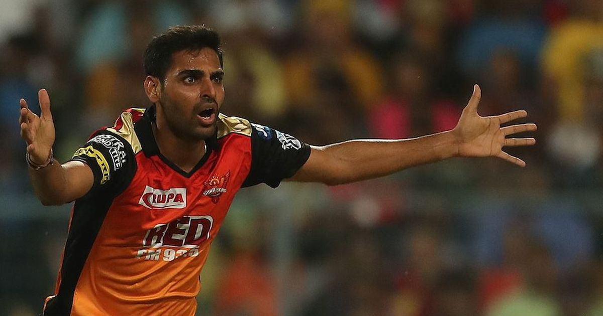 Injured Bhuvneshwar Kumar set to miss Sunrisers Hyderabad's crucial tie against Mumbai Indians