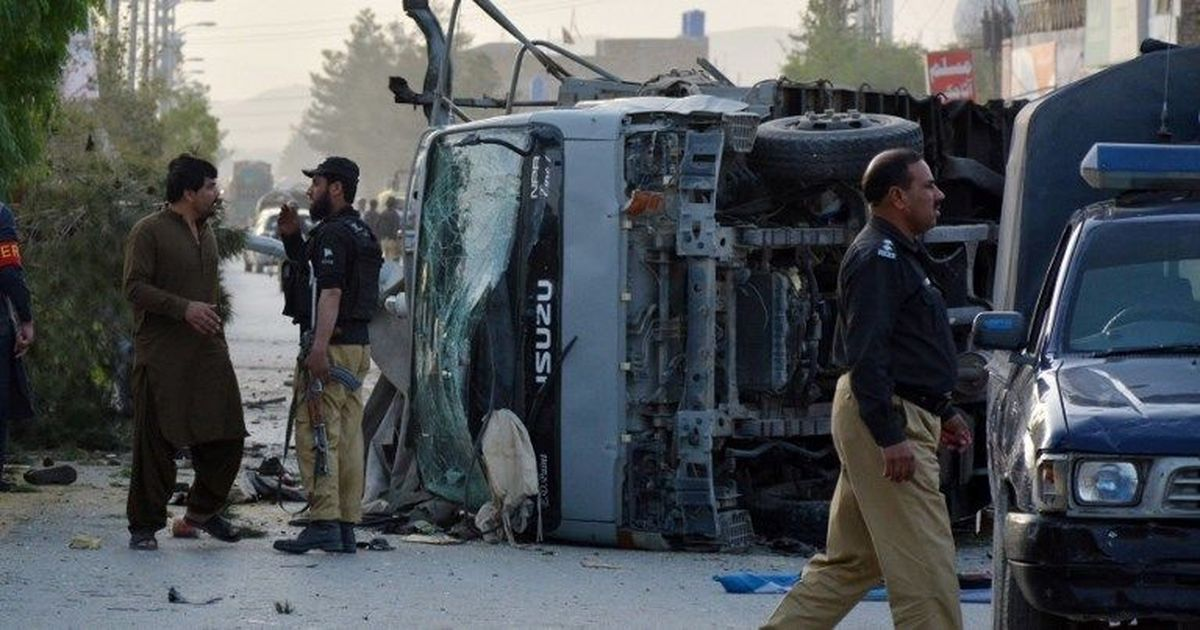 Pakistan: Six police personnel killed in three suicide attacks in Quetta