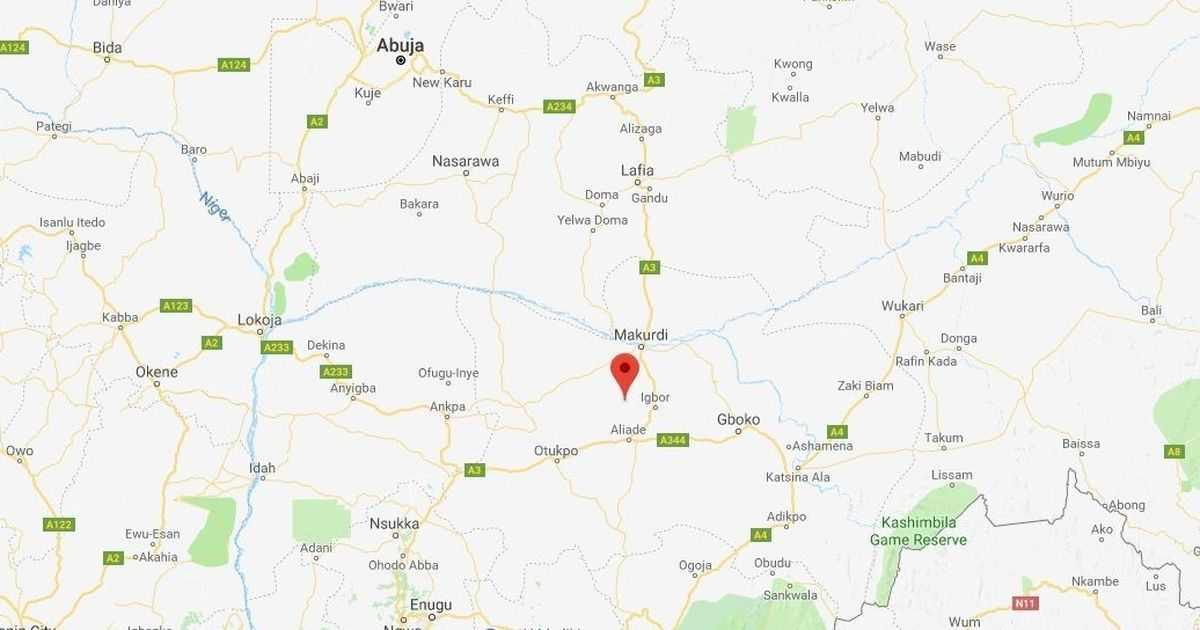 Nigeria: At least 16 people killed in attack on church congregation in Benue