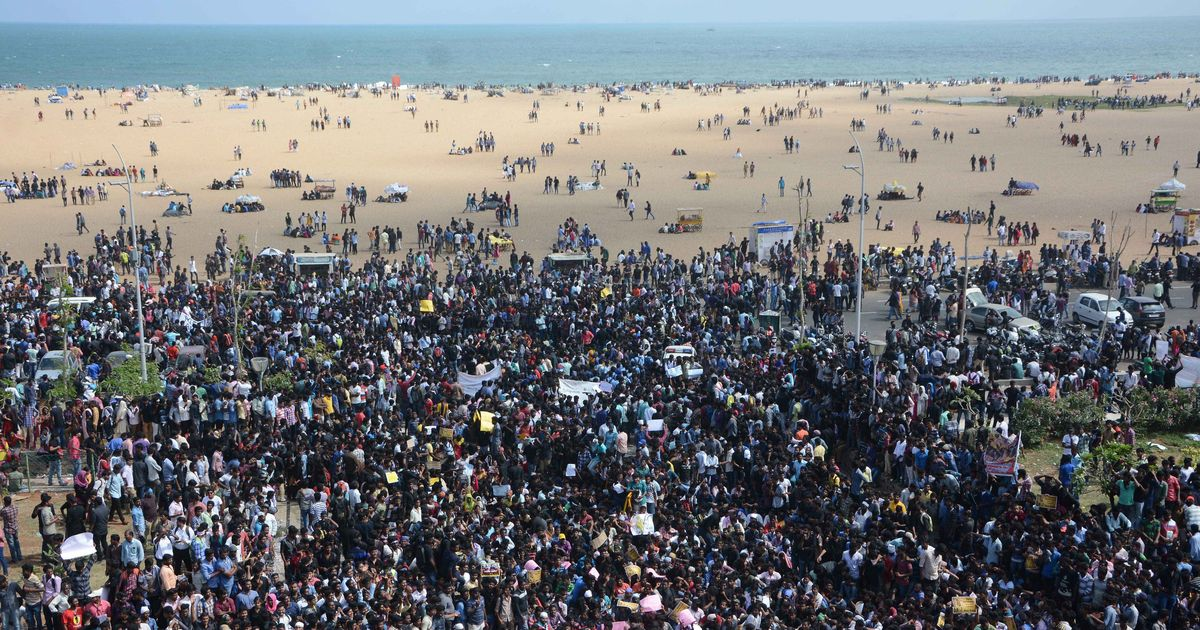 Madras High Court rebukes state government for banning protests at Chennai's Marina beach
