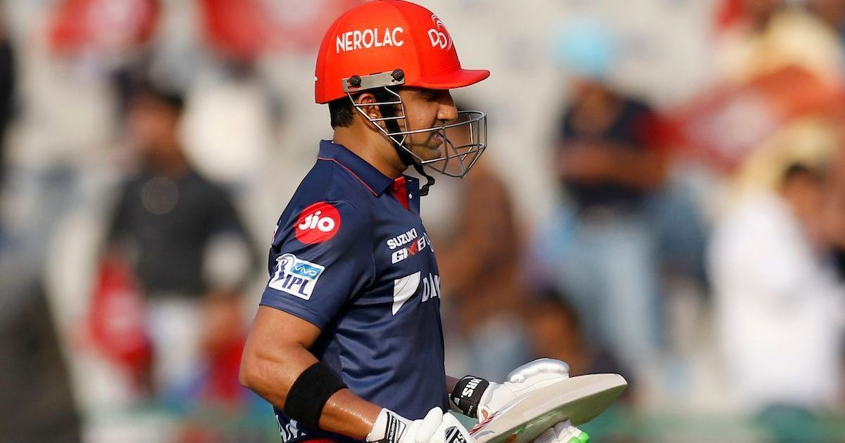 'I was not good enough': Gambhir steps down as Delhi Daredevils captain, Iyer to take over