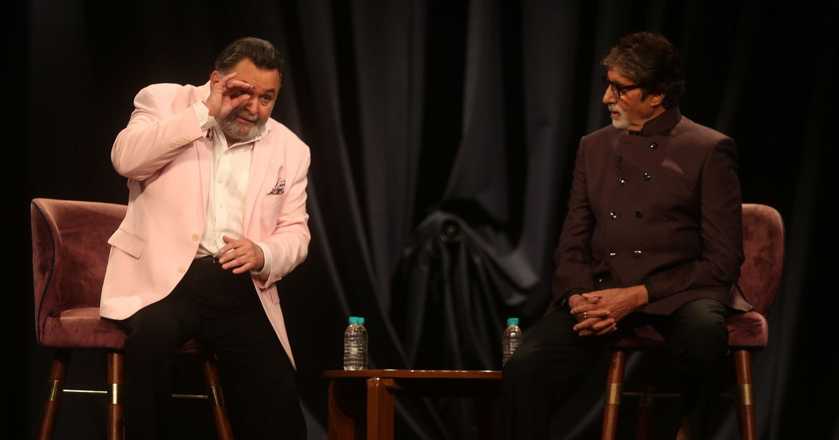 When two legends meet: Amitabh Bachchan and Rishi Kapoor celebrate a 27-year collaboration