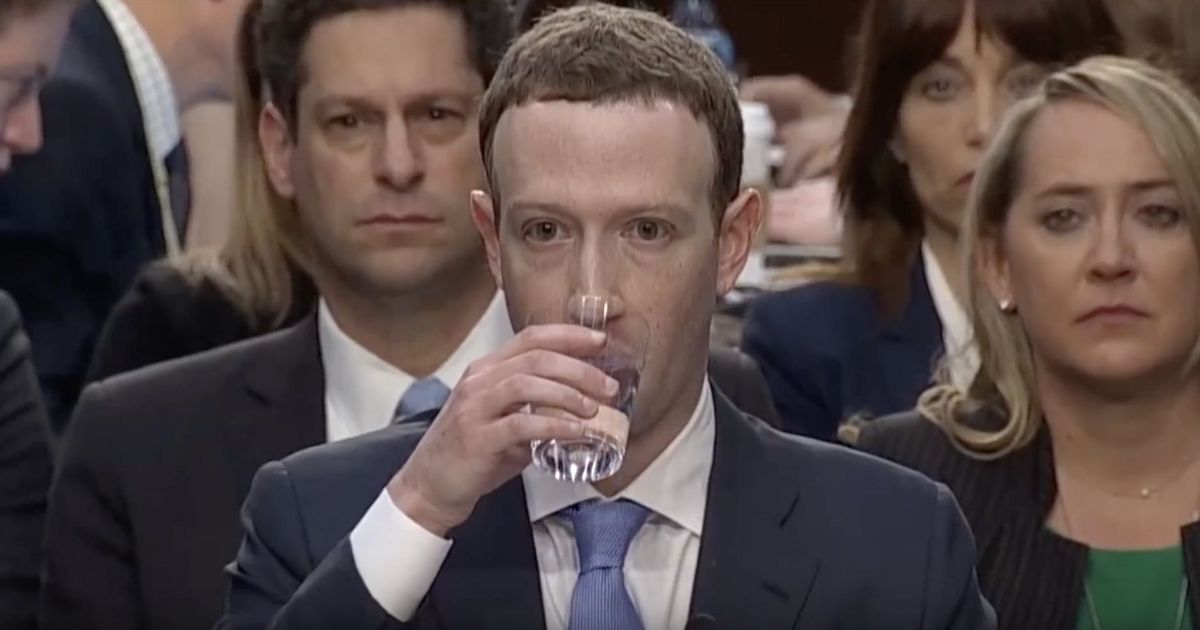 Video: This lip reading of Mark Zuckerberg's hearing with the US ...