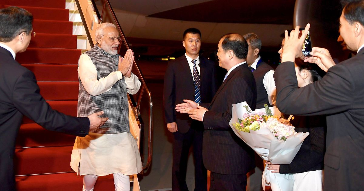 Modi in China: PM invites Chinese President Xi Jinping to India for an informal summit in 2019