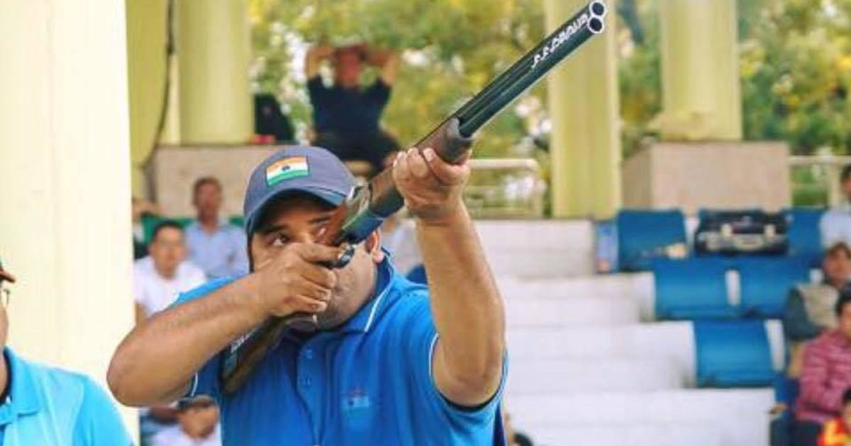 ISSF World Cup: Sheeraz Sheikh shoots a 49 after first round of Men's Skeet qualifiers