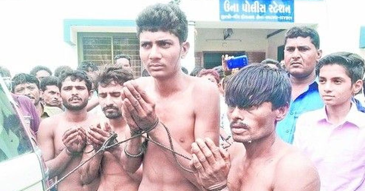Gujarat: Una Dalit family assaulted for skinning a cow in 2016 converts to Buddhism