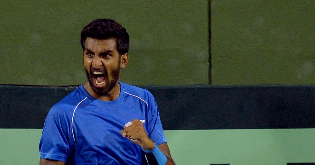 Prajnesh Gunneswaran jumps to career-best 176 in ATP rankings
